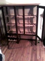 buffet and hutch custom (solid maple) 1100.00 obo