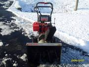 8 H.P. Craftsman Dual Stage Snowblower