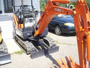 KUBOTA MINI EXCAVATORS $14500